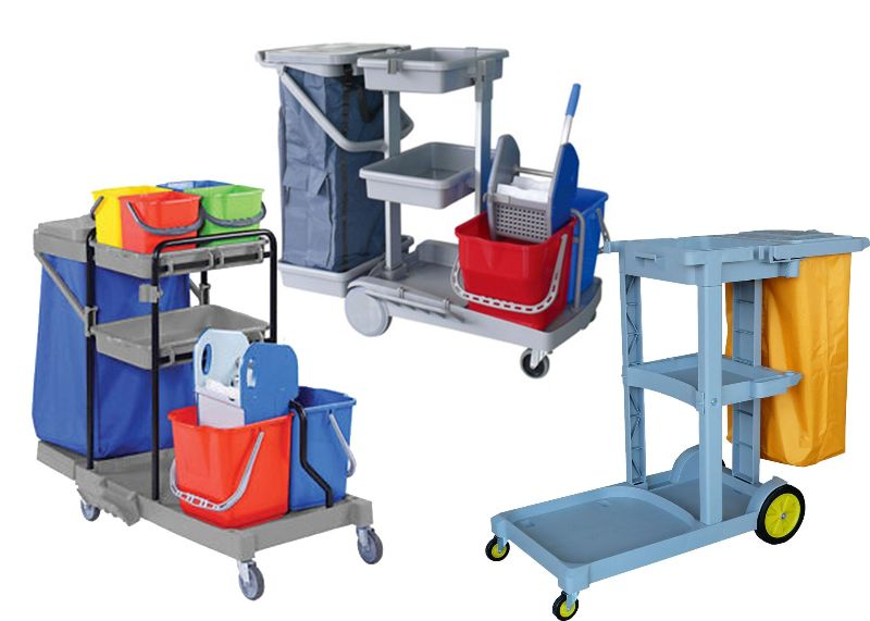 Cleaning Trolley Supplies
